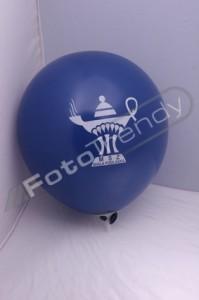 Balony z helem z ciekawą grafiką