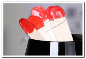 Lizaki reklamowe – pierwsze na świecie słodkości tego typu